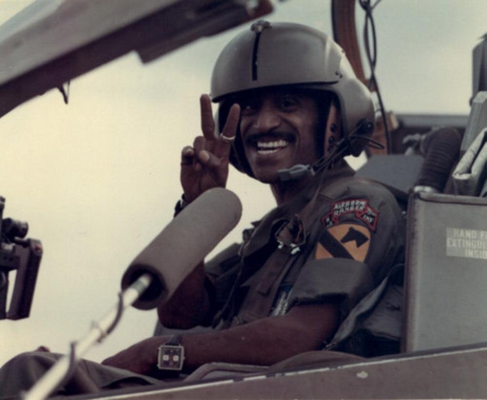 Sammy Davis Wearing a Heuer Monaco