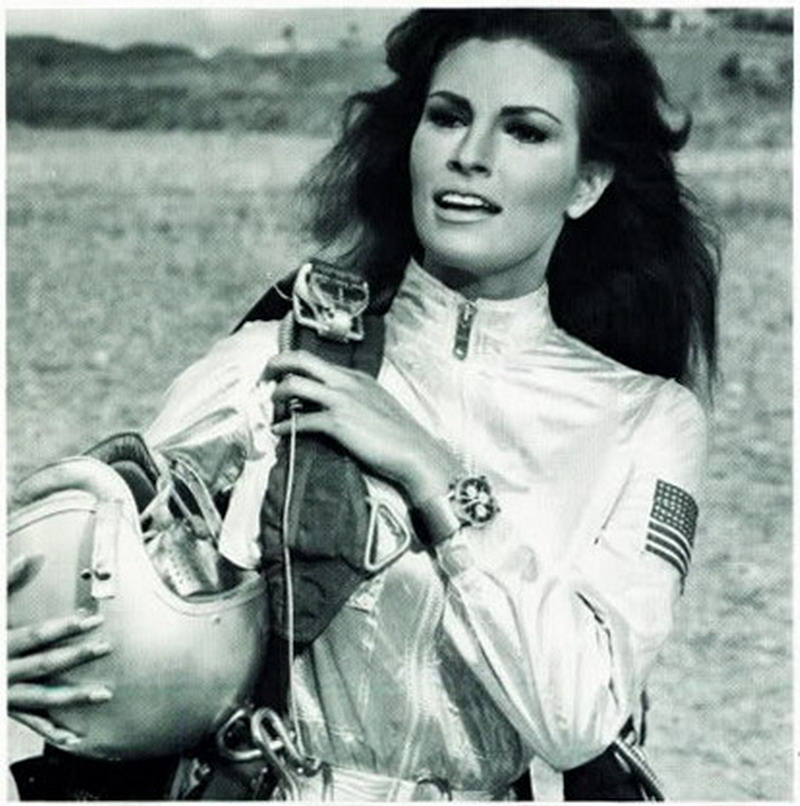 Raquel Welch Wearing Breitling Watch