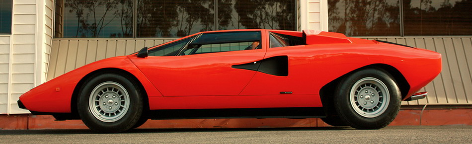 Lamborghini Countach LP400 Silvera -- Profile