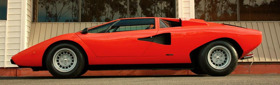 Lamborghini Countach LP400 Silvera -- Profile