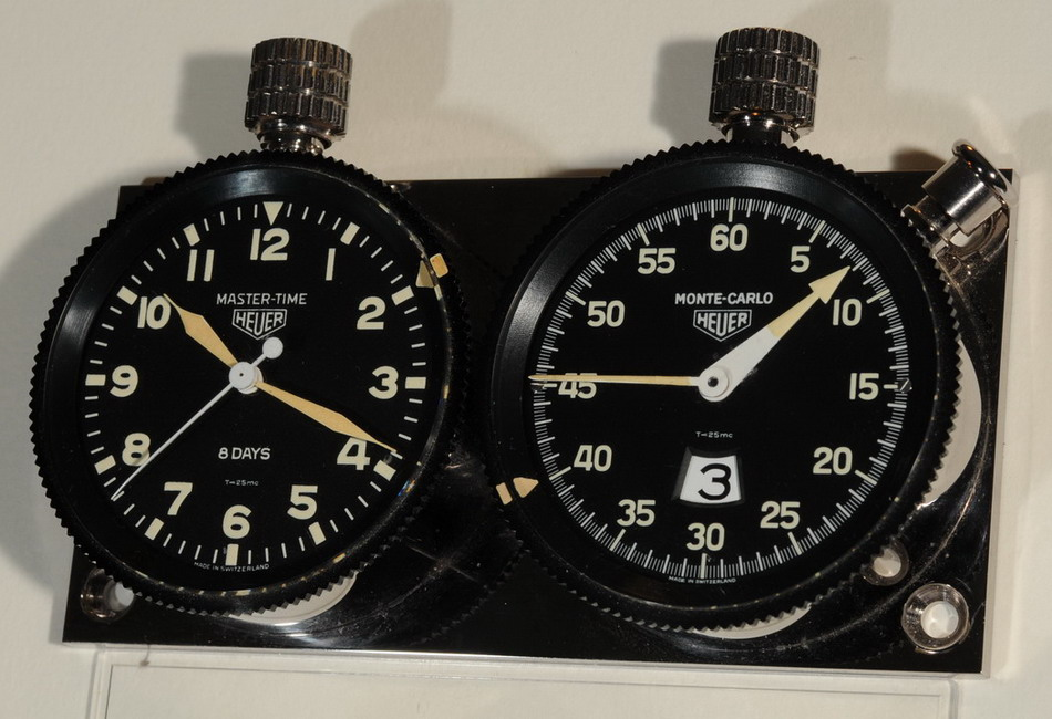 Heuer Rally Master Pair -- Sample