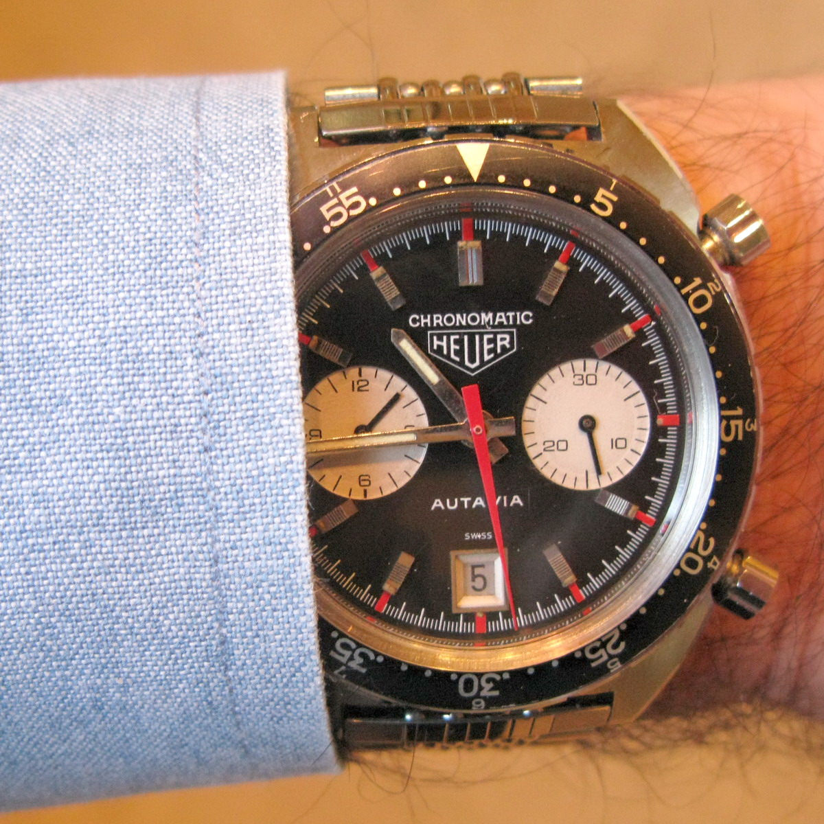 Heuer Autavia Chronomatic