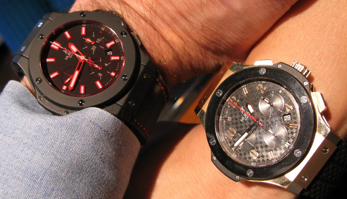 Hublot Big Bang -- Red Magic and Red Gold