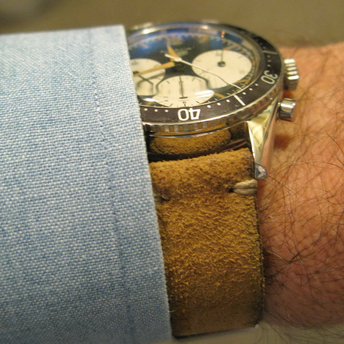 Heuer Autavia, First Execution (Strap)