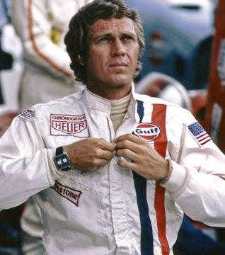 McQueen Wearing Racing Suit