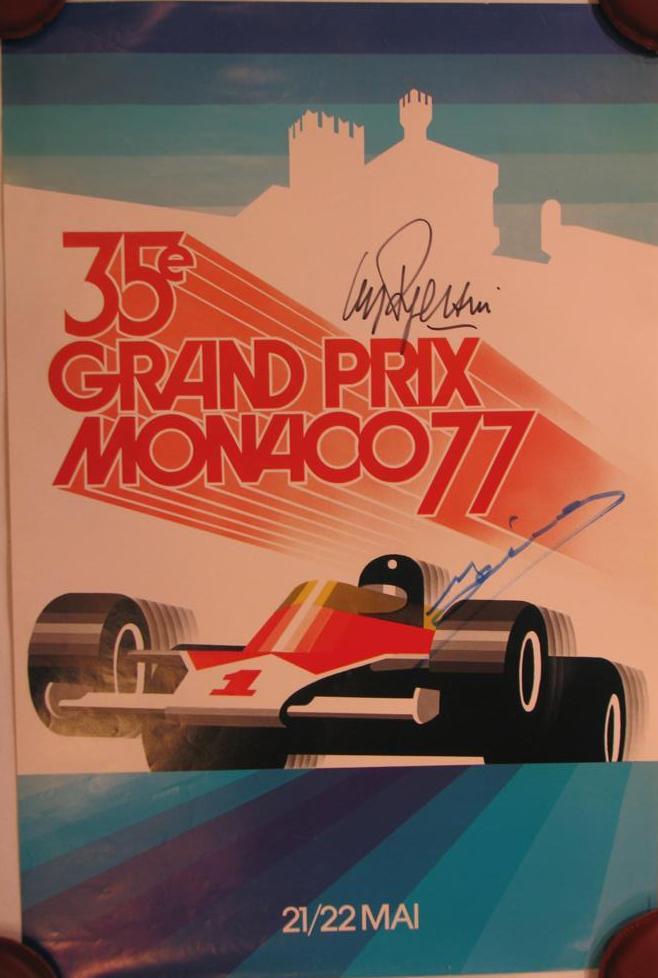 Monaco Poster 1977