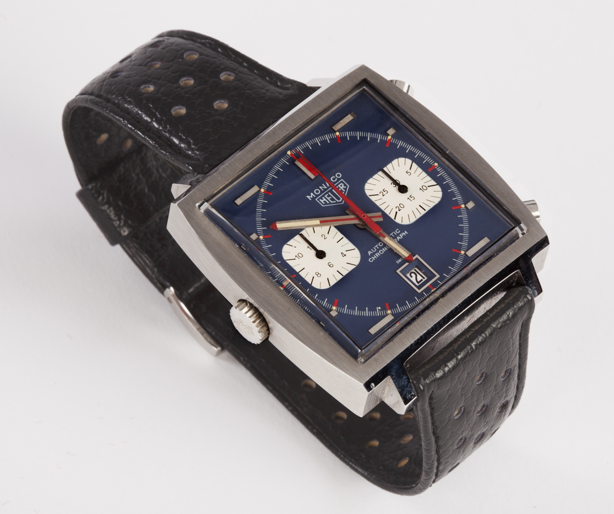 Heuer monaco worn by mcqueen part two on the dash for Mcqueen watches