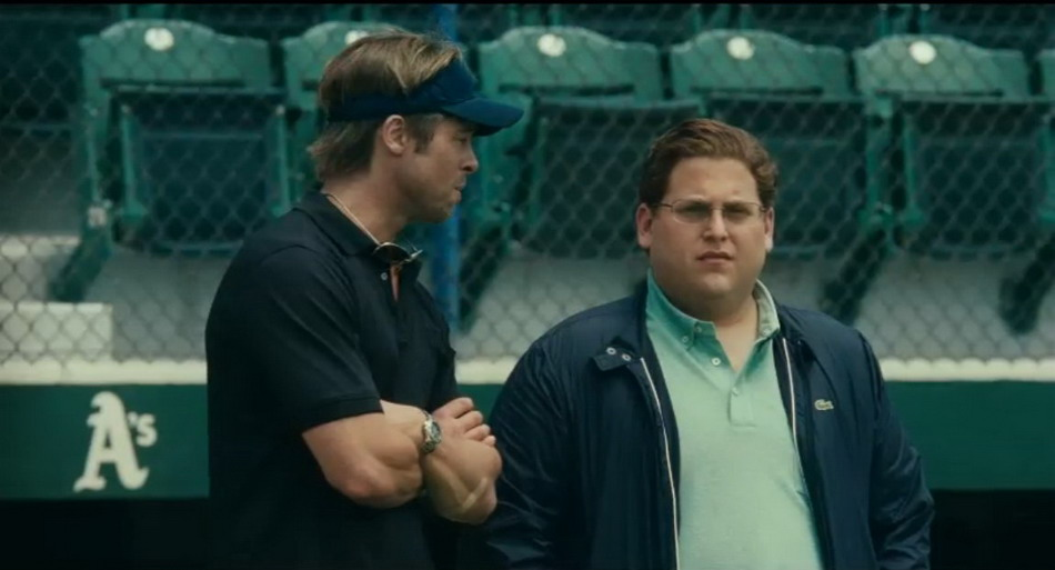 Brad Pitt in Moneyball Trailer
