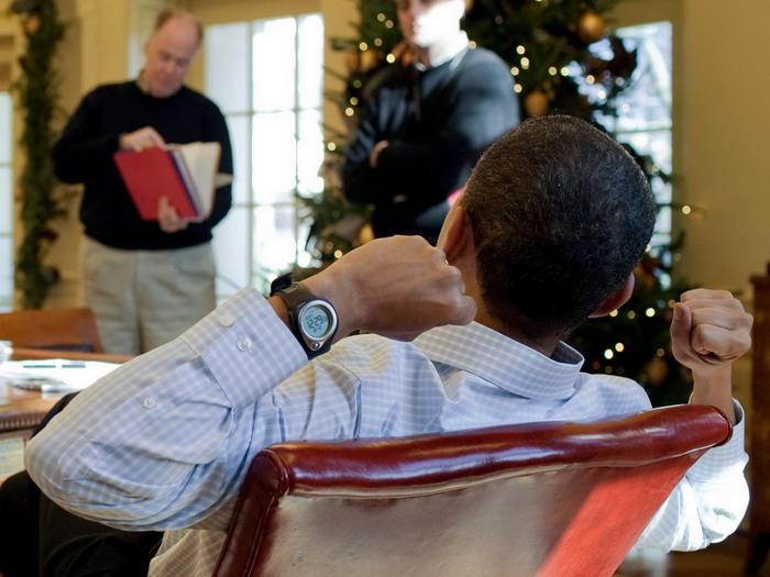 President Barack Obama, Wearing Highgear Enduro Compass Watch