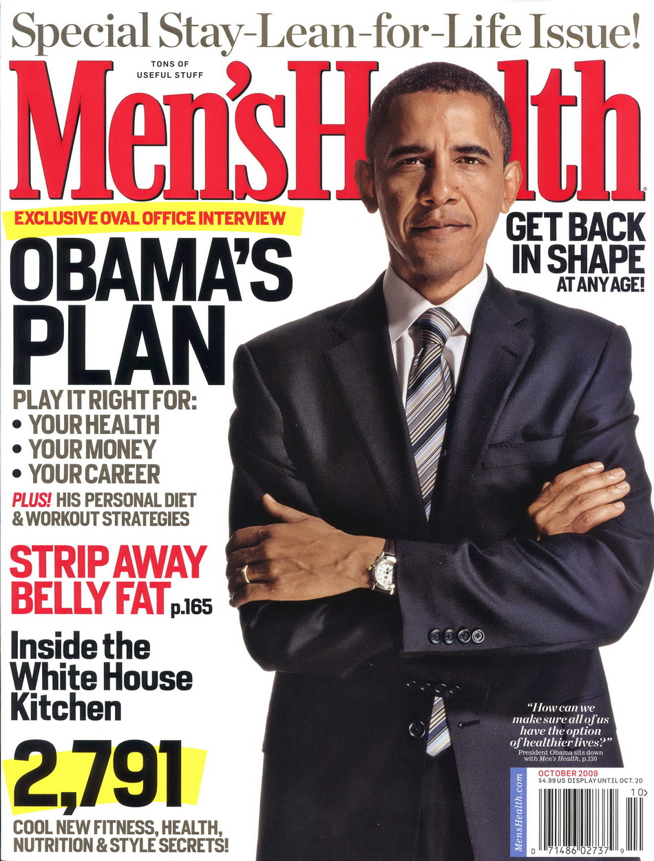 Men's Health, October 2009