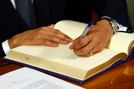President Barack Obama, Receiving Nobel Prize