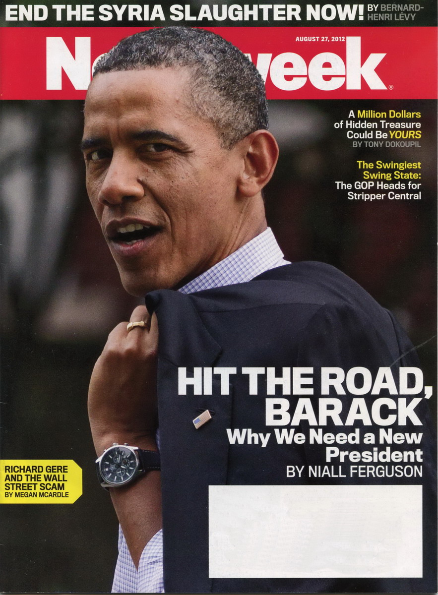 Obama on Cover of Newsweek
