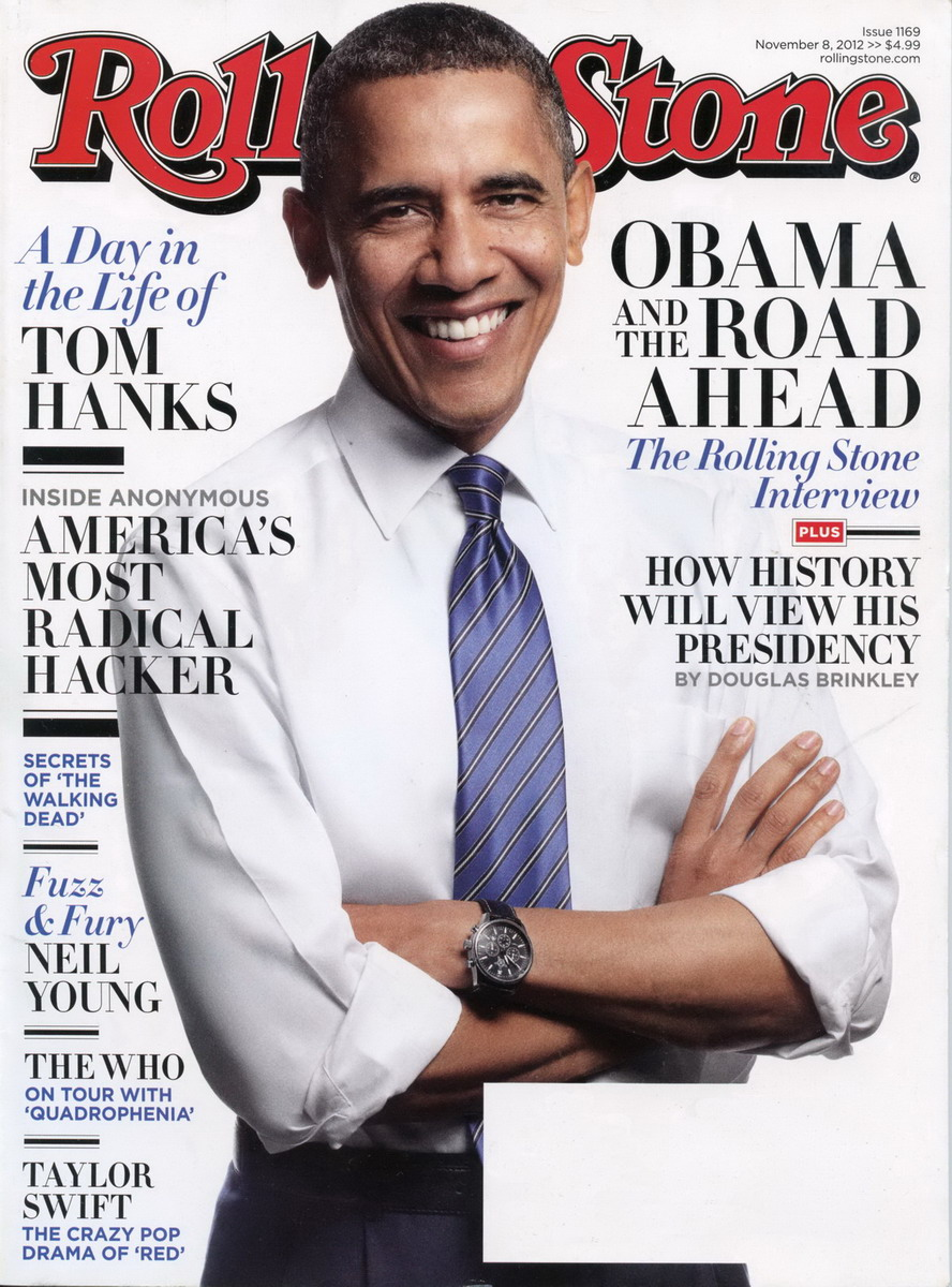 Obama on Cover of Rolling Stone