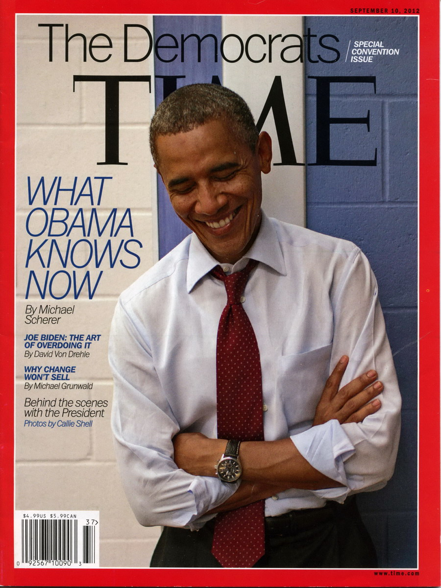 Obama on Cover of Time