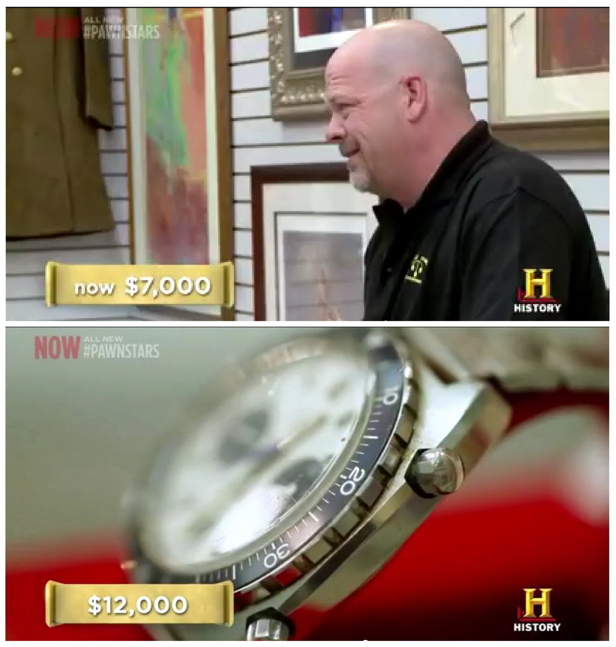 Pawn Stars Autavia -- Bid and Ask Prices