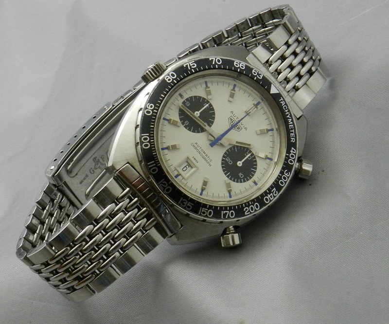 Heuer Autavia Reference 1163T -- On Bracelet