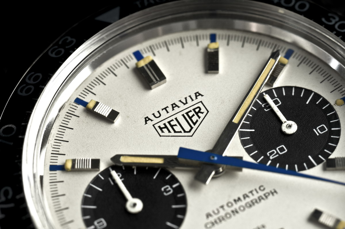 "Heuer Autavia Reference 1163T (""Siffert"" Model)"