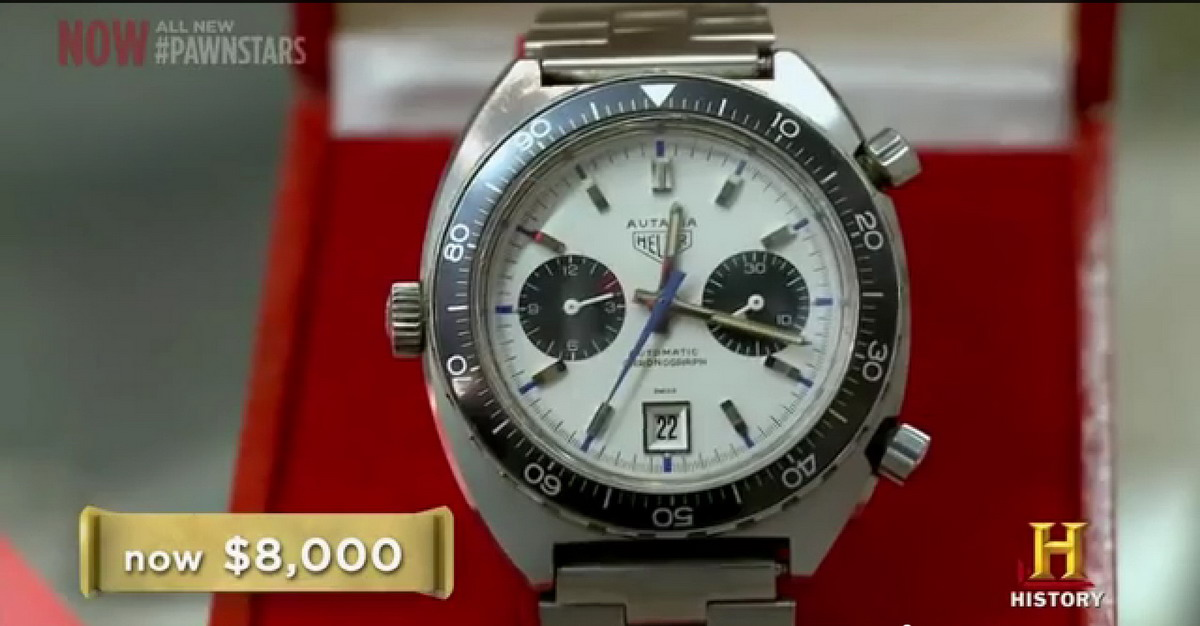 Pawn Stars Autavia -- Watch in Box