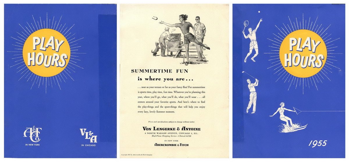 Abercrombie & Fitch Catalog -- Summer 1955