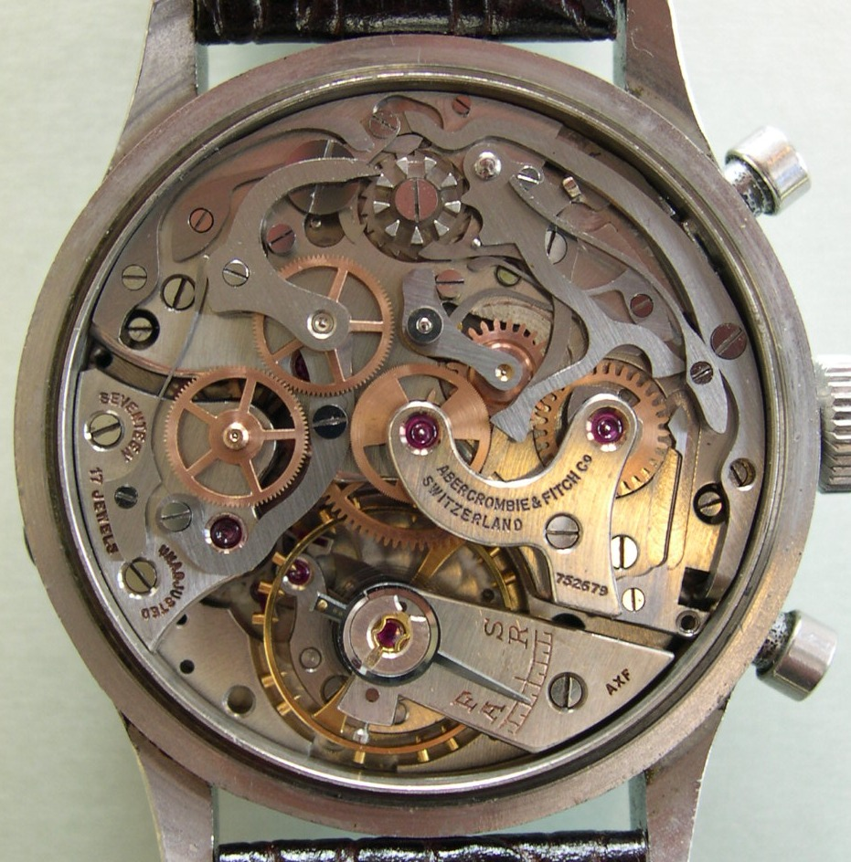 Valjoux 71 Movement (Modified) in Abercrombie & Fitch Seafarer