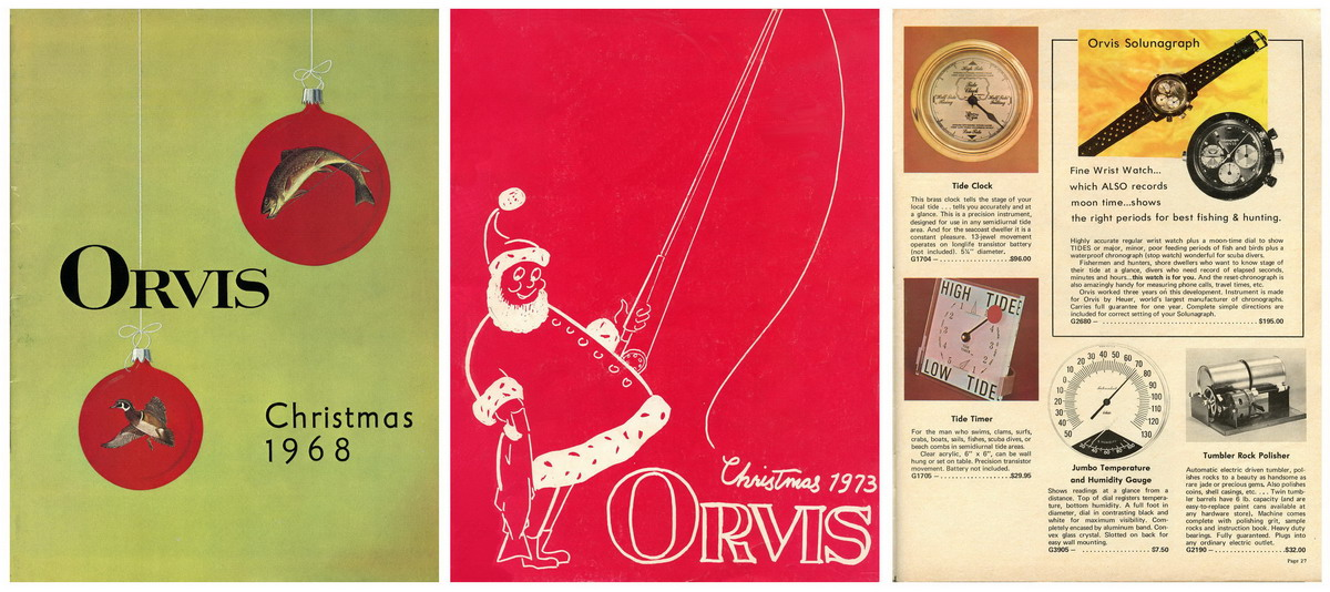 Orvis Catalogs from 1968 and 1973