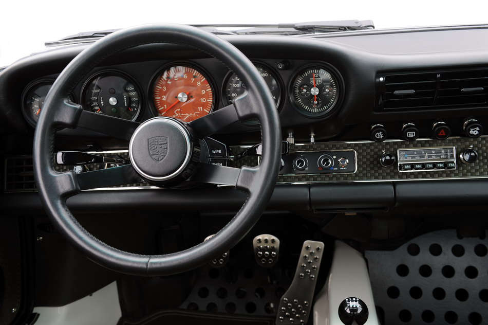 Clock In Singer Vehicle Design Porsche Is A Fake