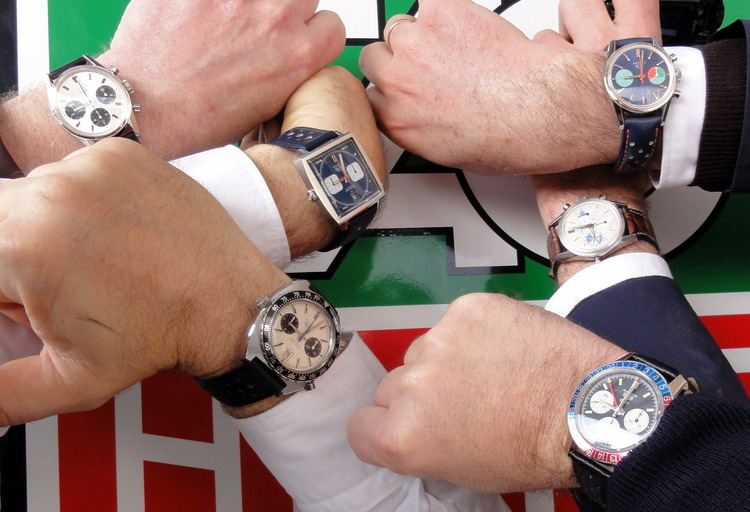 Five Friends; Six Heuers