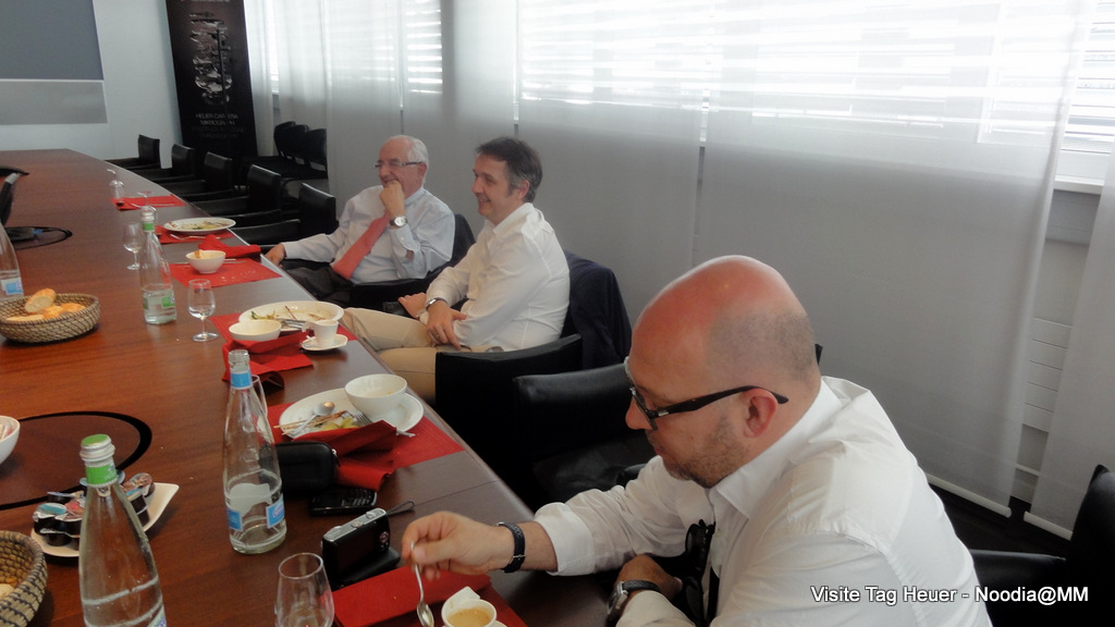 TAG Heuer Visit -- Lunch with Jack Heuer
