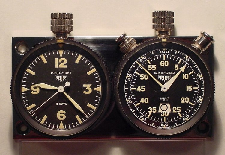 Heuer Rally Master Pair