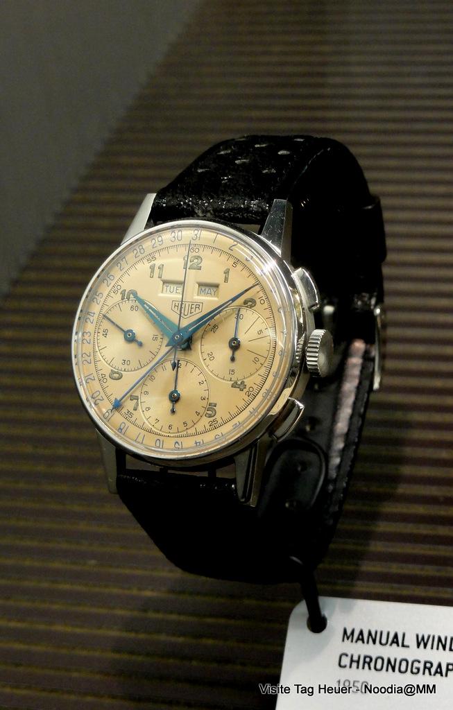 TAG Heuer Museum -- Triple Calendar Chronograph