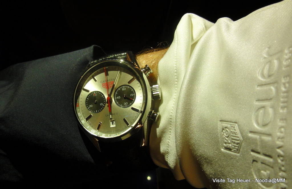 TAG Heuer Carrera -- Jack Heuer 80th Birthday Model
