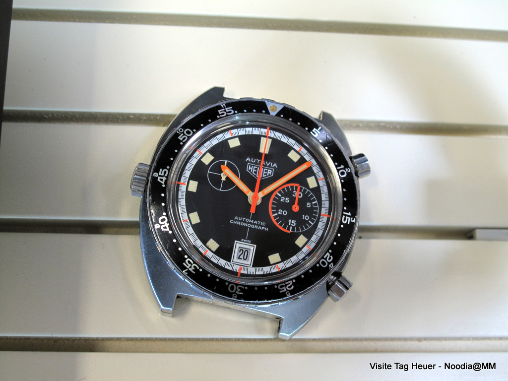 Exotic Autavia in Service Department Display Case
