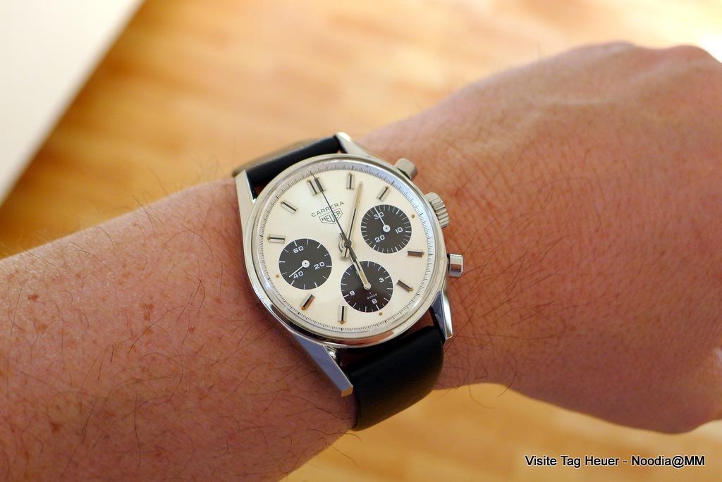 Wrist Shot -- Carrera 2447 SN