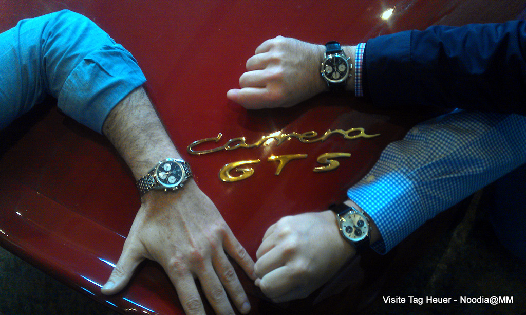 Three Friends with Heuers