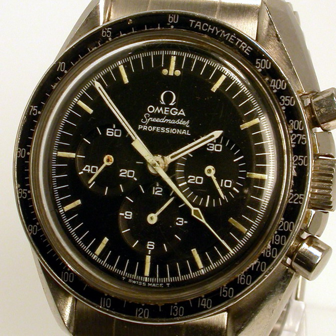 Omega Speedmaster, with Fixed Tachymeter Bezel