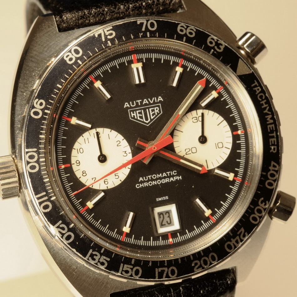 Use of Rotating Tachymeter Bezel - F