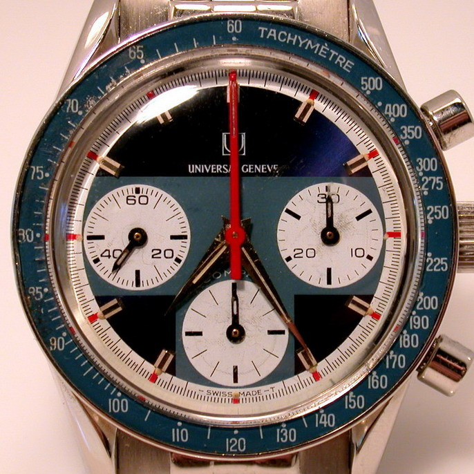 Universal Geneve Compax, with Fixed Tachymeter Bezel