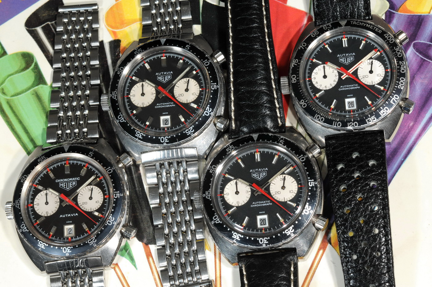 Four Reference 1163 Black Autavias