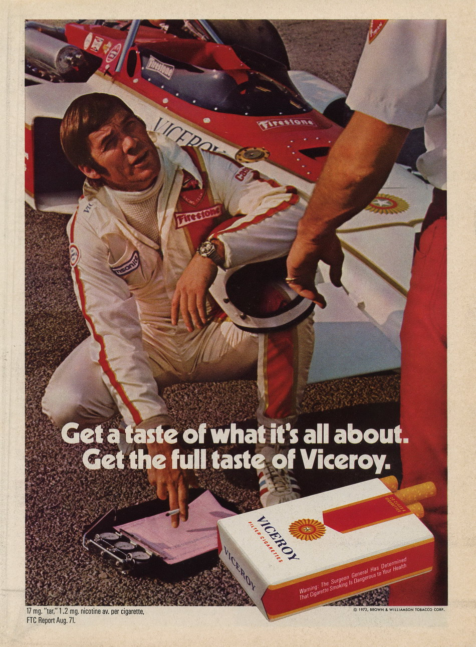 Viceroy Ad from 1972