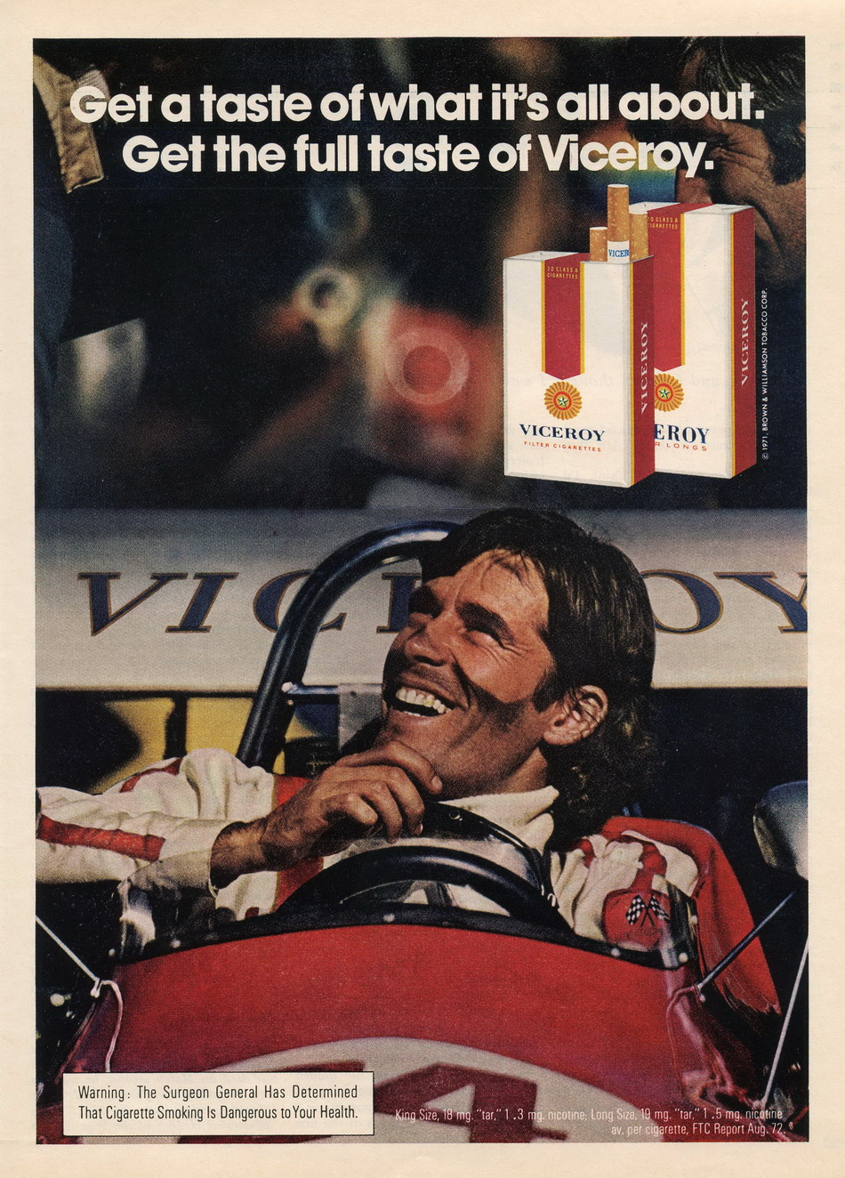 Viceroy Ad -- December 1972