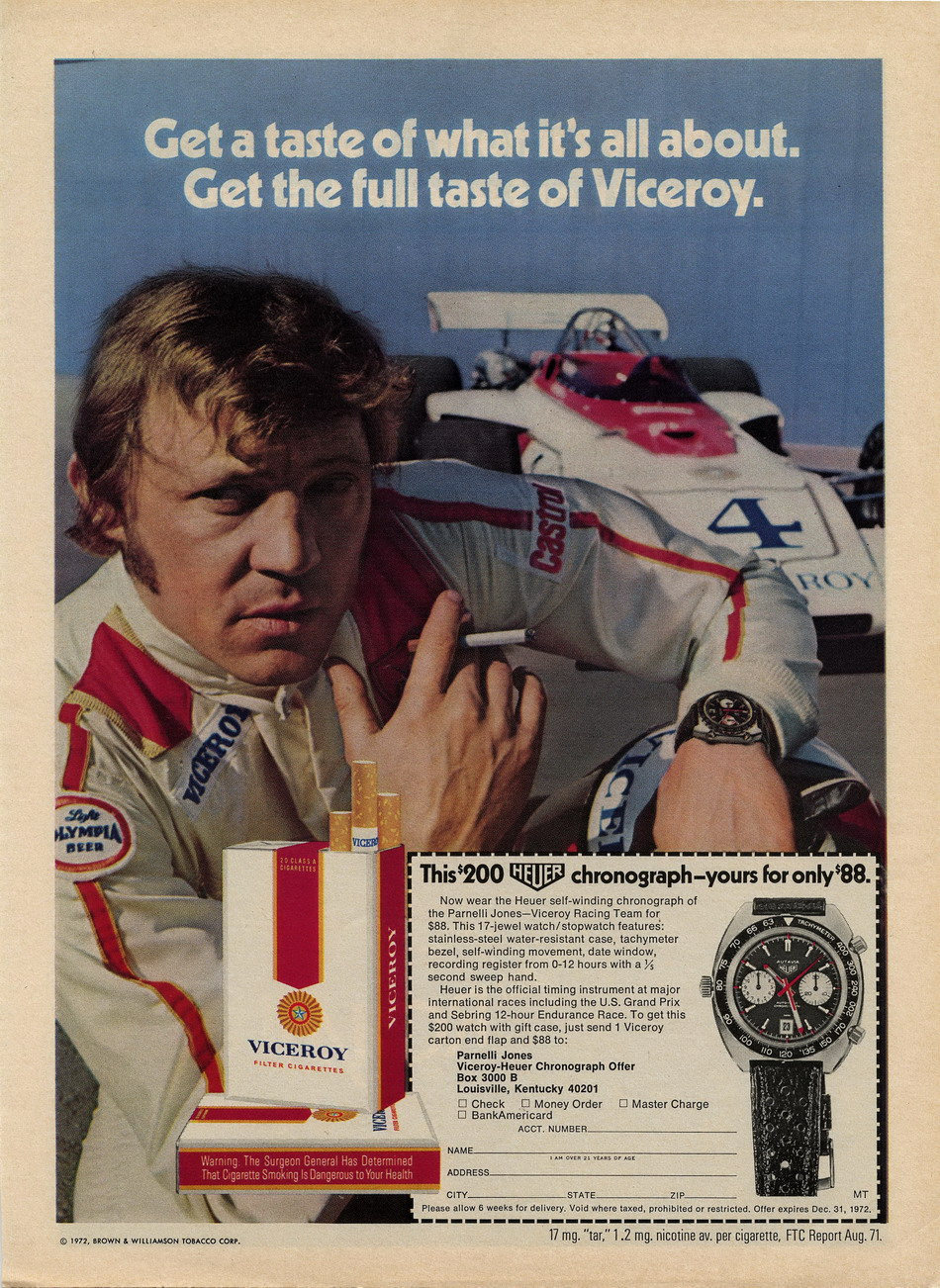 Viceroy Autavia Advertisement -- 1972