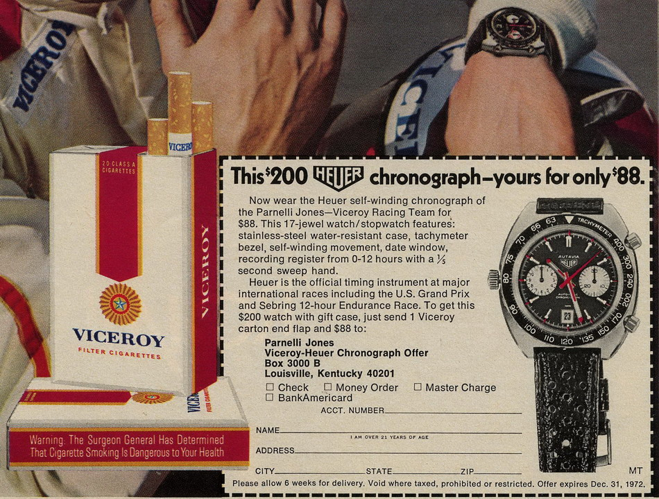 Detail of Ad for Viceroy Promotion