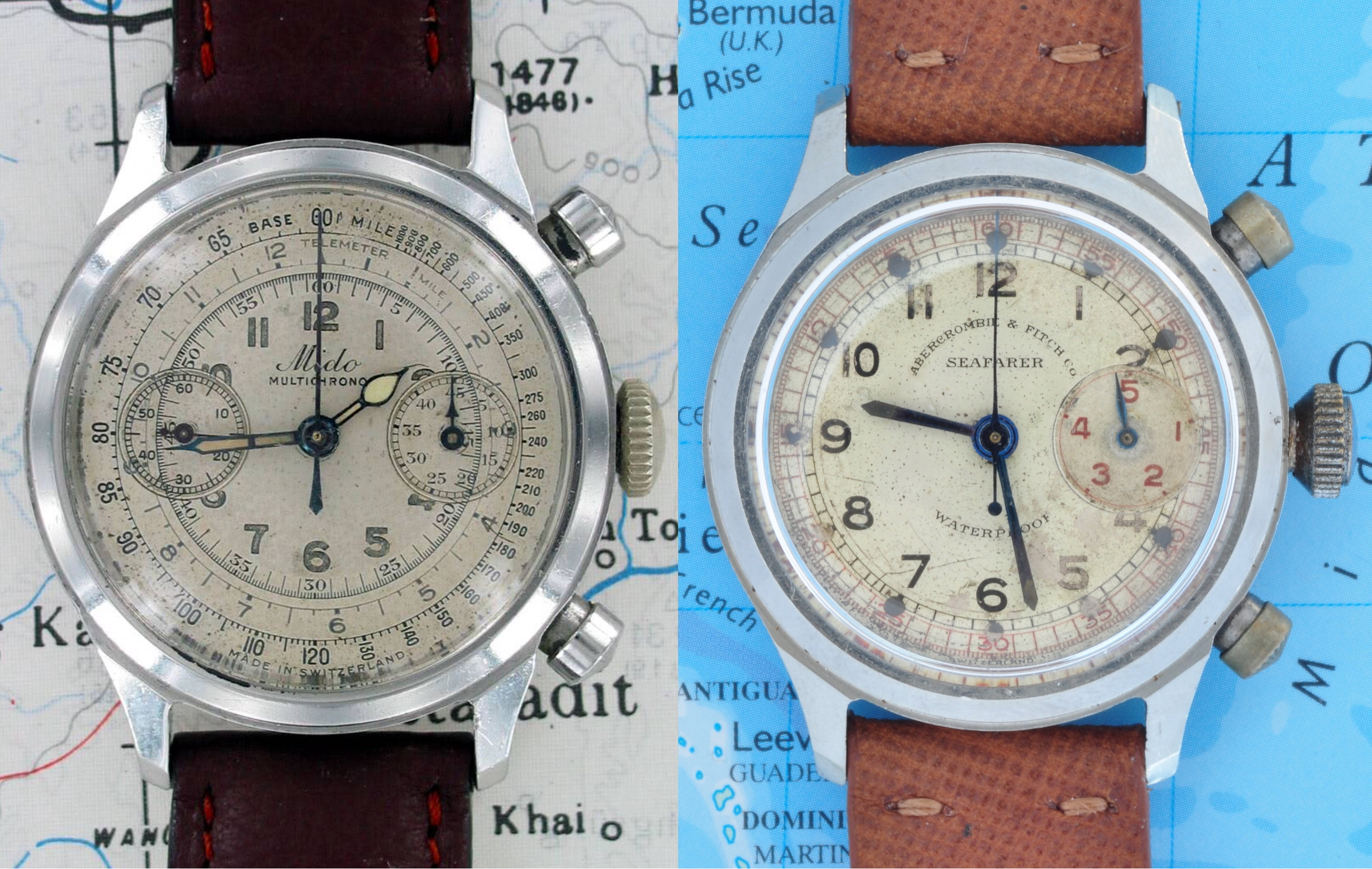 Found: The First Abercrombie & Fitch Seafarer (pre-Heuer