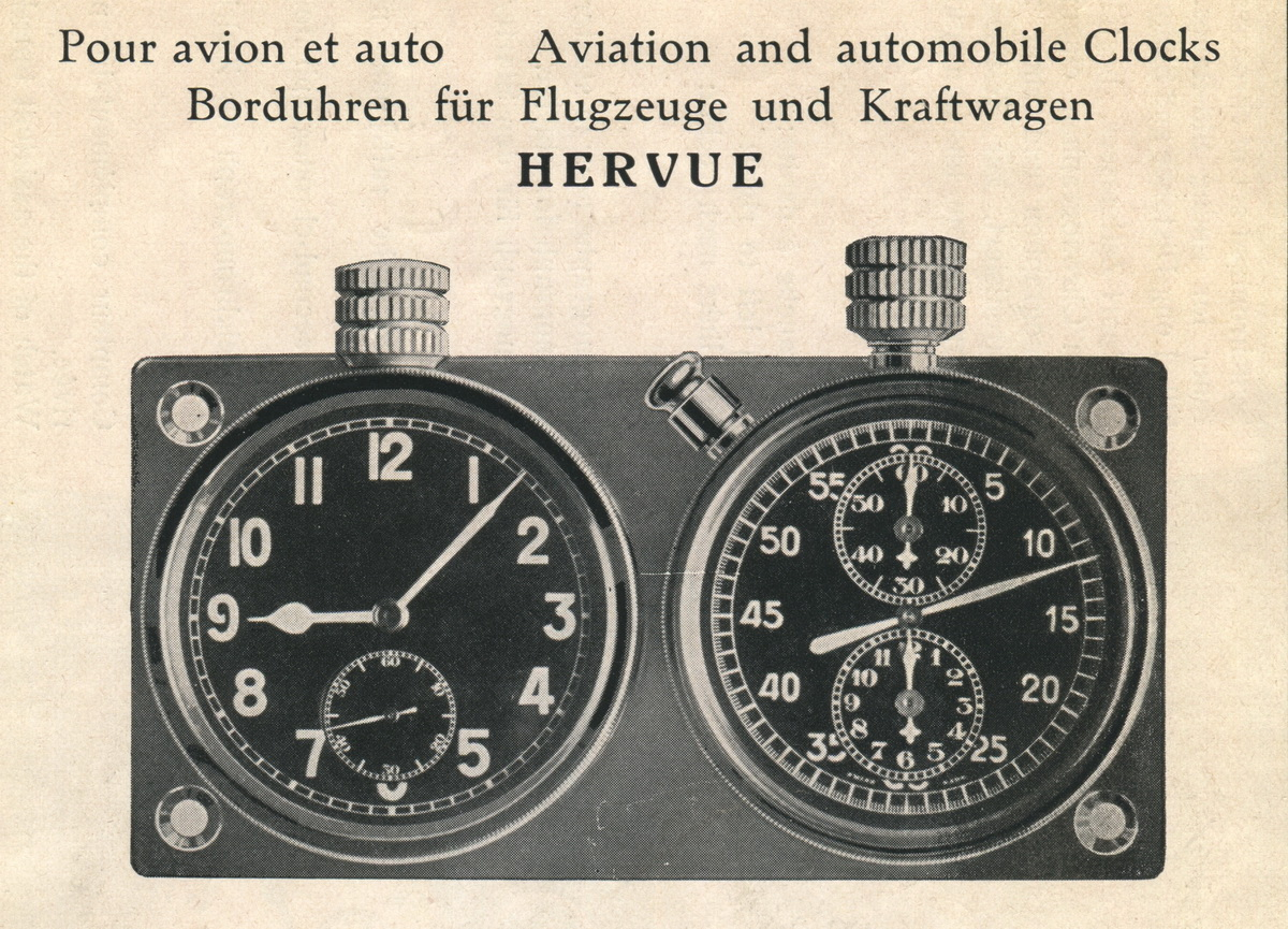 Heuer Dash-Mounted Timers — Overview of the Auto-Rallye