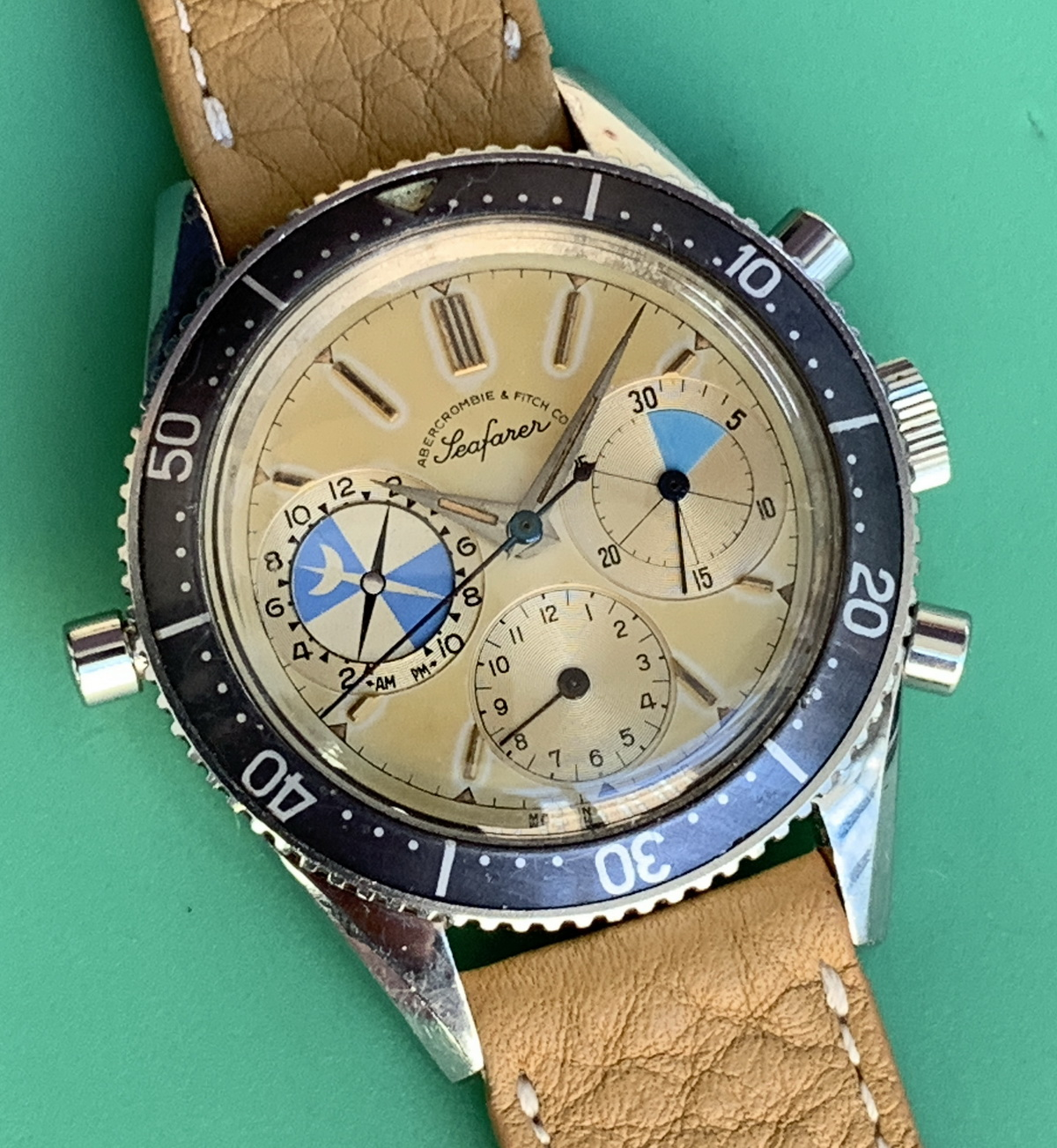 A Noteworthy Watch — Abercrombie & Fitch Seafarer, Ref 2446 (Screw-Back Case), to be Sold by Sotheby's