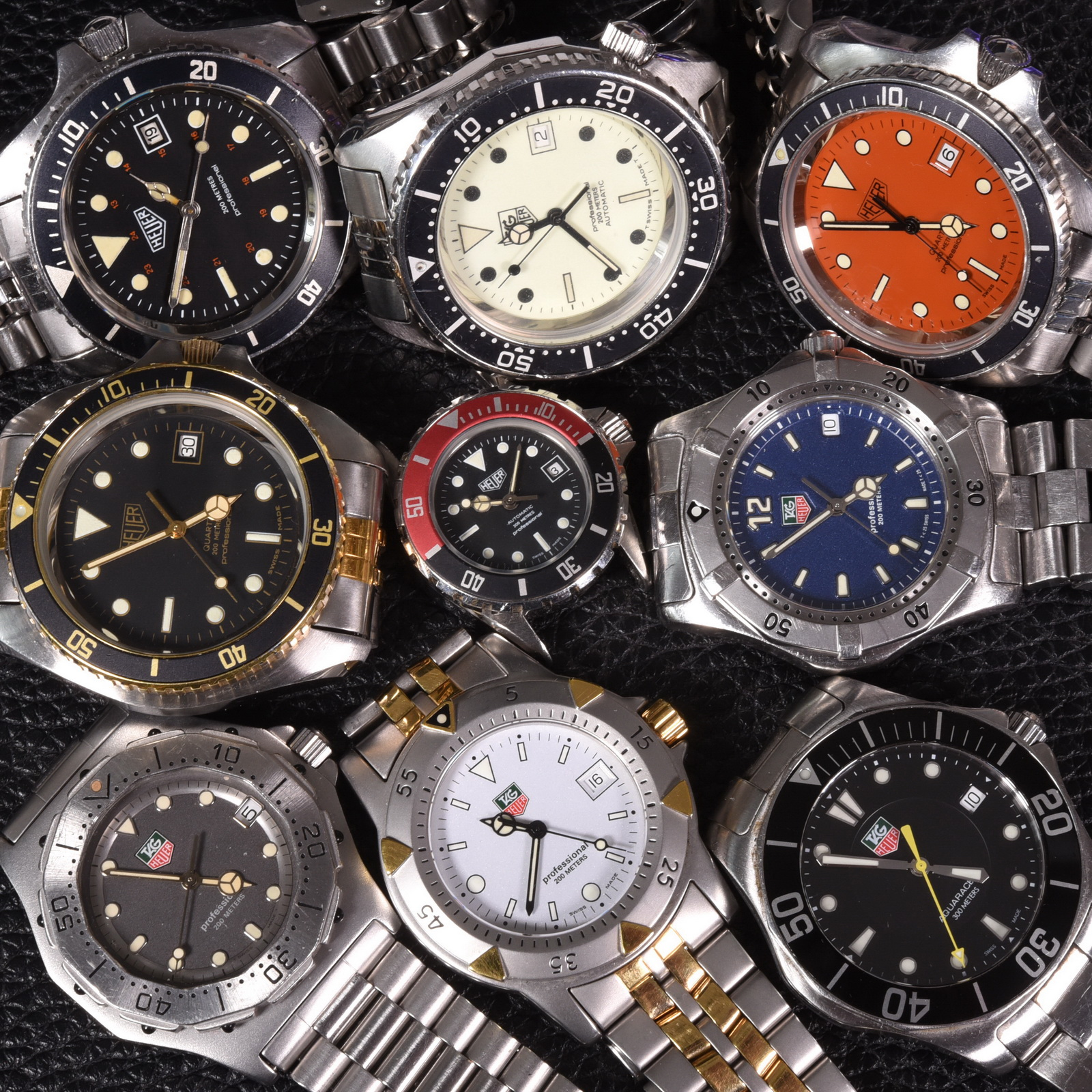 TAG Heuer Dive Watches – The Oldest, the Newest and 25 of the Years in Between