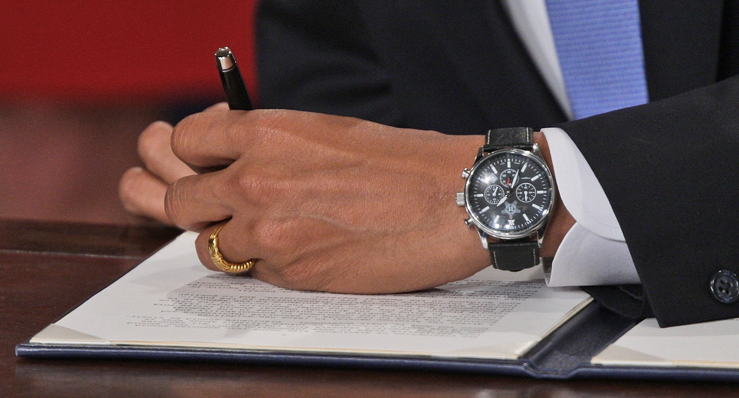 Watching Obama's Watch | OnTheDash